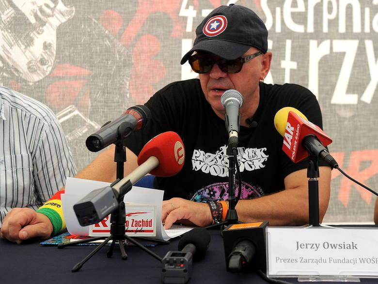- Na koncercie zespołu The Prodigy będziemy musieli ustawić barierki - mówi Jurek Owsiak.