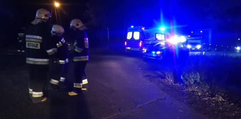 Wypadek we wsi Borki koło Radomska. Zderzenie samochodów na DK 91, sprawca pijany