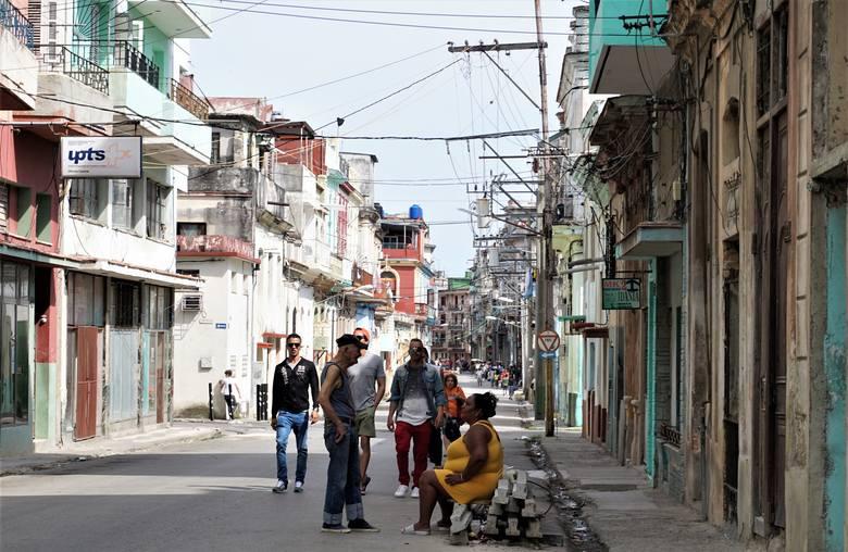 Jedna z typowych ulic w Centro