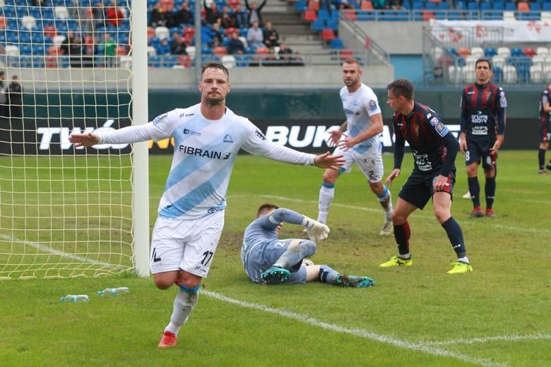 Grzegorz Goncerz zdobył w Częstochowie bramkę na 0:2.