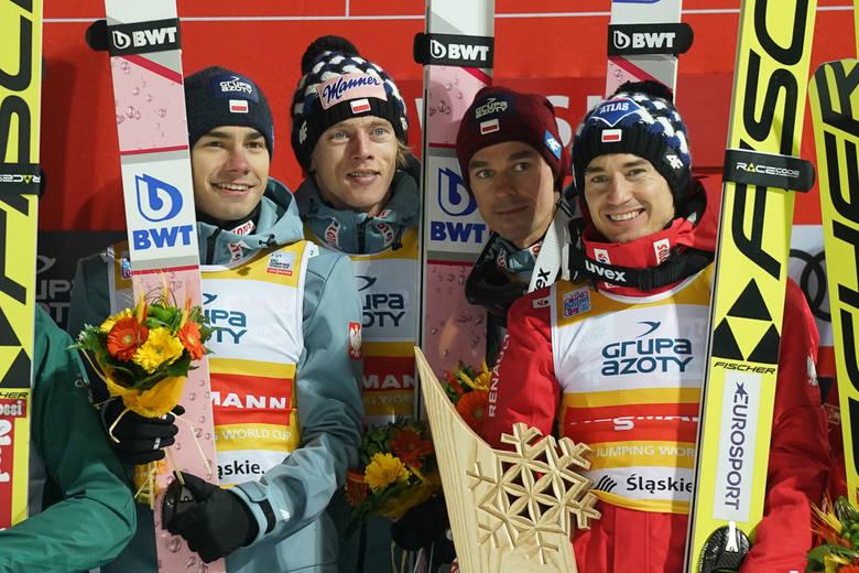 """Skoki narciarskie Wisła 2018 NA ŻYWO LIVE. Kamil Stoch tuż za podium w konkursie Pucharu Świata w Wiśle, trzech Polaków w """"10"""" WYNIKI"""