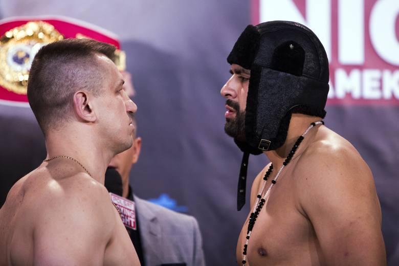 1 kwietnia 2016 r., Tauron Arena Kraków. Tomasz Adamek i Eric Molina