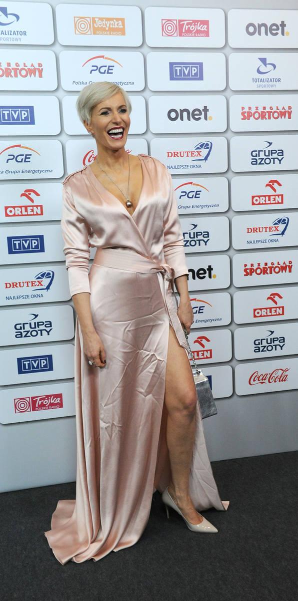 Bal Mistrzów Sportu. Na zdjęciu: Paulina Smaszcz-Kurzajewska