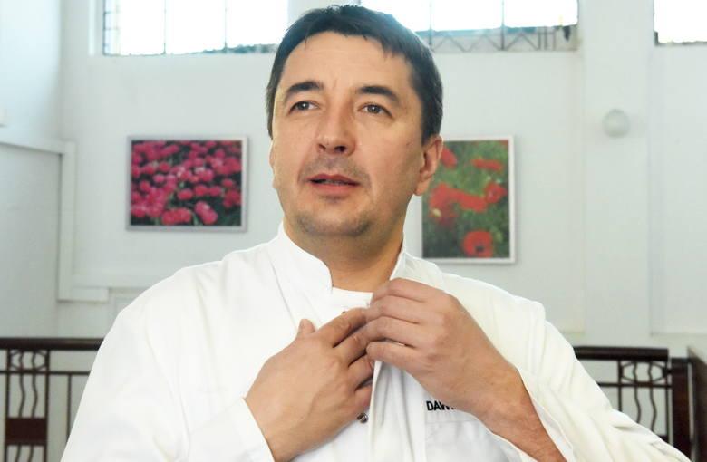 Dr hab. n. med. Dawid Murawa kierownik oddziału chirurgii ogólnej i onkologicznej Szpitala Uniwersyteckiego w Zielonej Górze