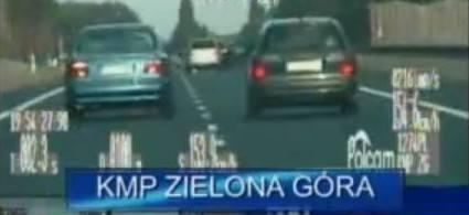 """Kierowcy BMW i citroena ścigali się na """"trójce"""" (wideo)"""