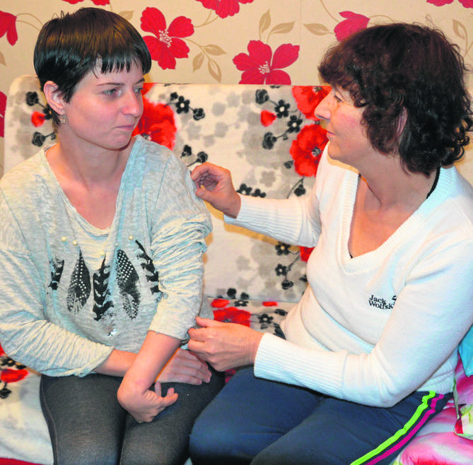 choroba, Teresa Maczulis, jej córka Justyna