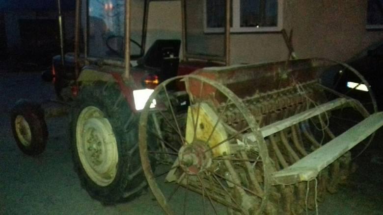 W gminie Tryńcza 9-letni chłopiec włożył rękę do siewnika. Ręka została wciągnięta do środka maszyny