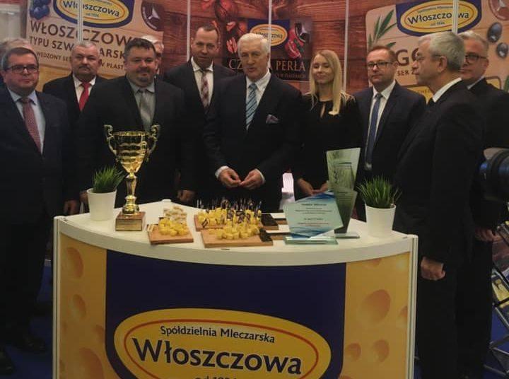 Okręgowa Spółdzielnia Mleczarska we Włoszczowie z wieloma nagrodami na targach Mleko - Expo w Warszawie