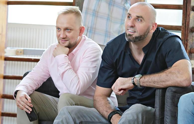 Marcin Gortat (z prawej)