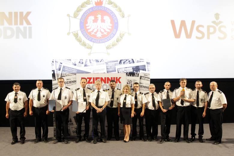 """Plebiscyt """"Strażak Roku 2019 Województwa Śląskiego"""" podsumowany. Laureaci otrzymali nagrody ZDJĘCIA"""
