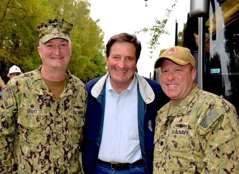 Kongresmen John Garamendi wizytował Redzikowo we wrześniu 2019 roku.