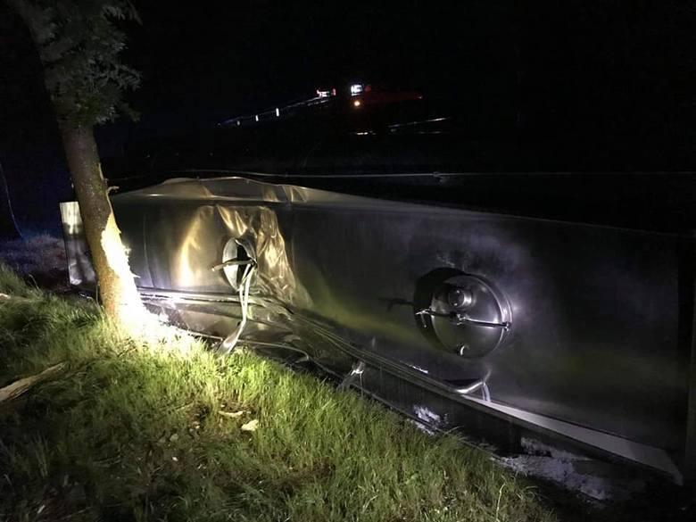 Wypadek w Wydmusach, 29.06.2020