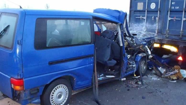 Wypadek polskiego busa w Czechach.