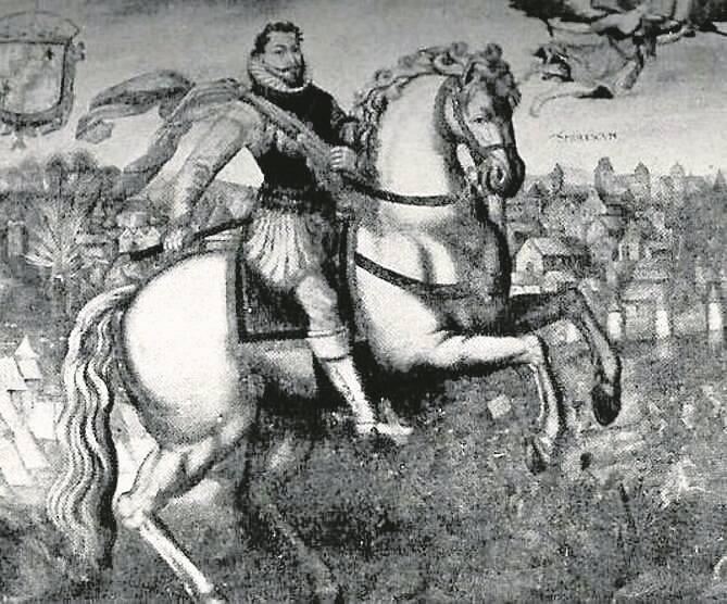 Dymitr Samozwaniec przysięga Zygmuntowi III, że zaprowadzi w Rosji katolicyzm