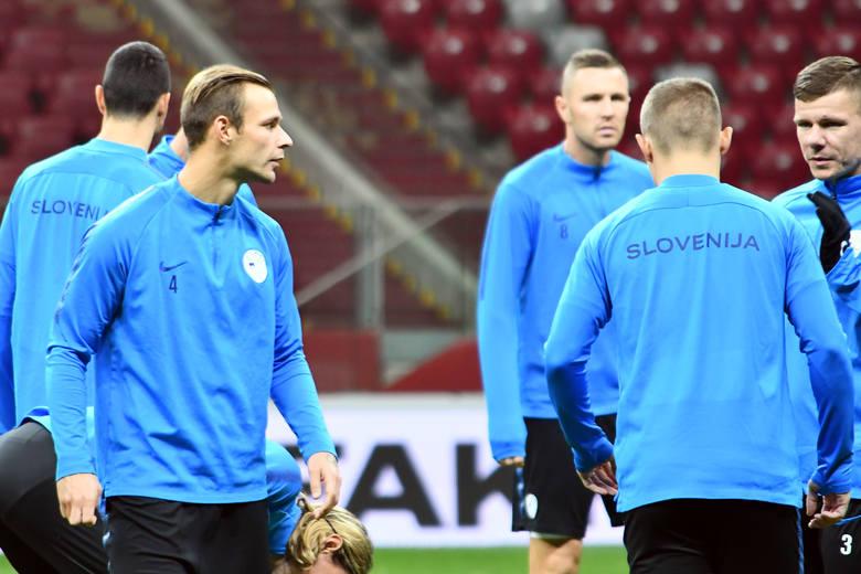 Uros Korun wraz z reprezentacją Słowenii trenował na Stadionie Narodowym [galeria]