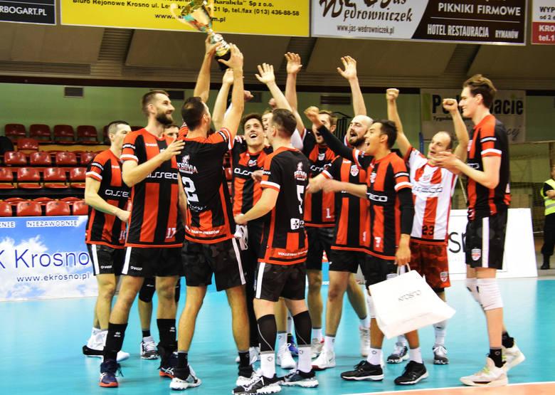W finałowym meczu 12. turnieju o Puchar Prezydenta Krosna Asseco Resovia pokonała GKS Katowice 3:2.