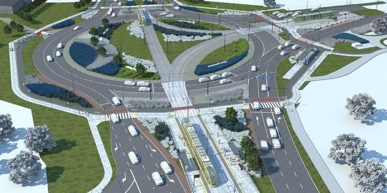 Rondo Żegrze zostanie przebudowane i przedłużona będzie linia tramwajowa w kierunku ul. Unii Lubelskiej