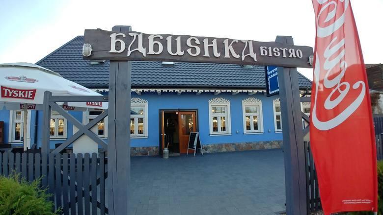 Stacja Pałac w Białowieży - RESTAURACJA BABUSHKA BISTROKiedy zgłodniejemy, możemy wybrać się do umieszczonej w pobliżu pałacu restauracji Babushka Bistro.
