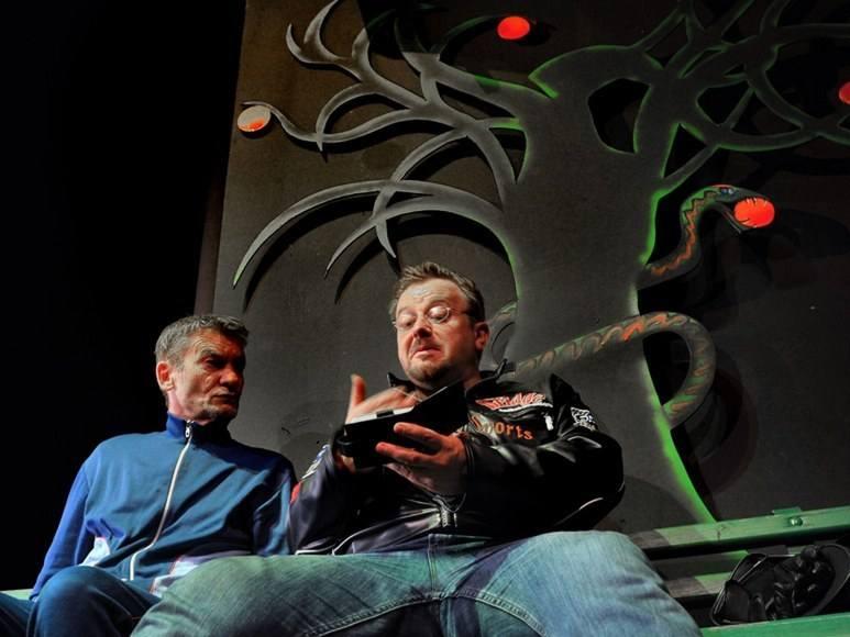 """W komedii """"Diabli mnie biorą"""" występuje m.in. Krzysztof Kiersznowski (z lewej) i Olaf Lubaszenko. Stargardzianie chcieliby ich zobaczyć"""