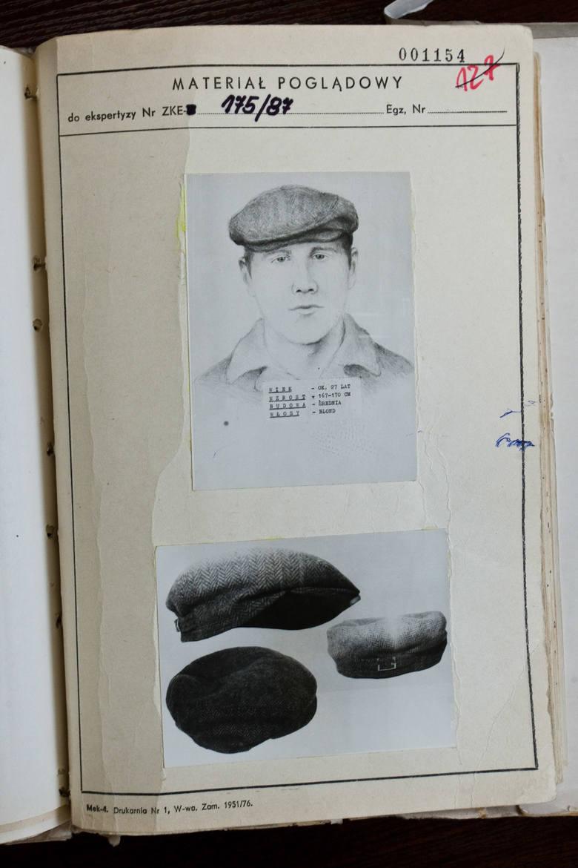 Portret pamięciowy sprawcy przygotowali najlepsi specjaliści jakim dysponowała wtedy milicja. Opracowano nawet raport dotyczący rysu psychologicznego