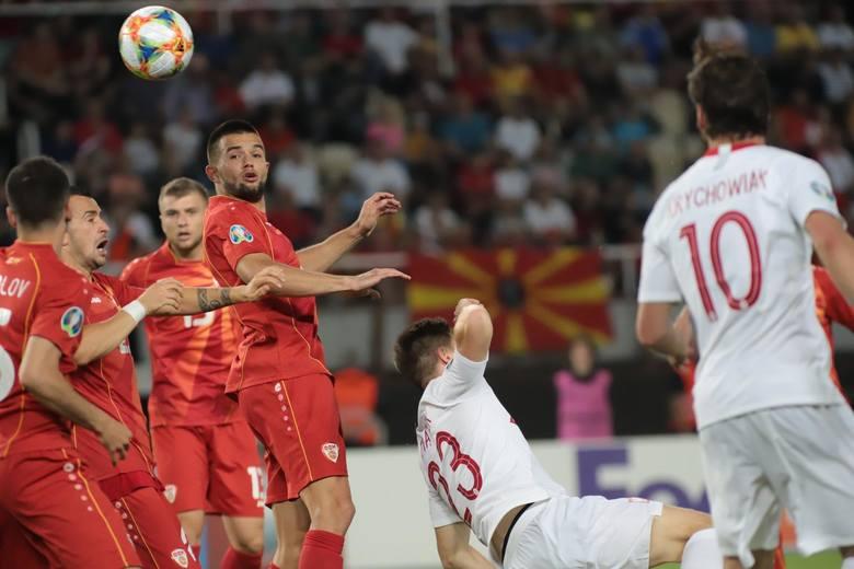 Przewidywany skład reprezentacji Macedonii Północnej. Staną na drodze kadry Jerzego Brzęczka?