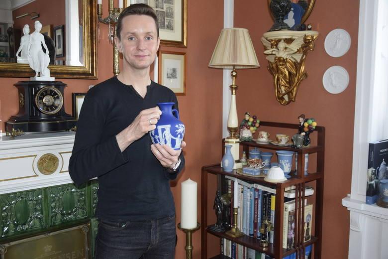 Karol Nowak, czyli wielbiciel i znawca porcelany Josiah Wedgwood'a
