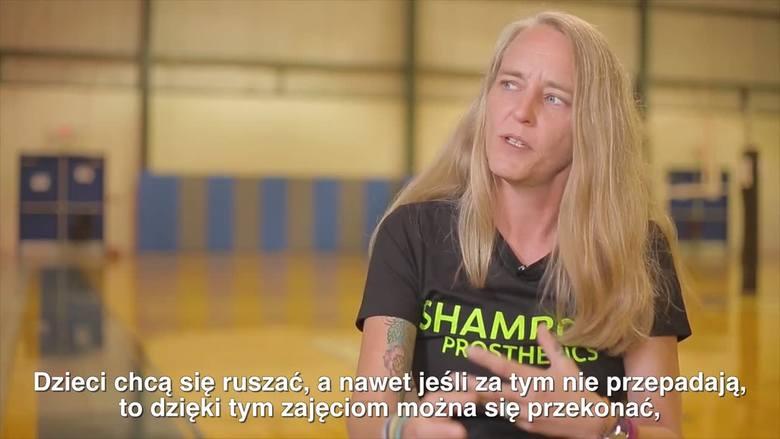 - Skoro ja mogę trenować, to inni też mogą - uważa kobieta