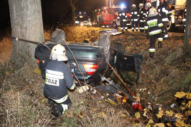 Wypadek w Wawelnie