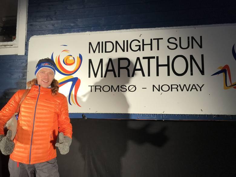 Torunianin na Półmaratonie Nocy Polarnej w Norwegii