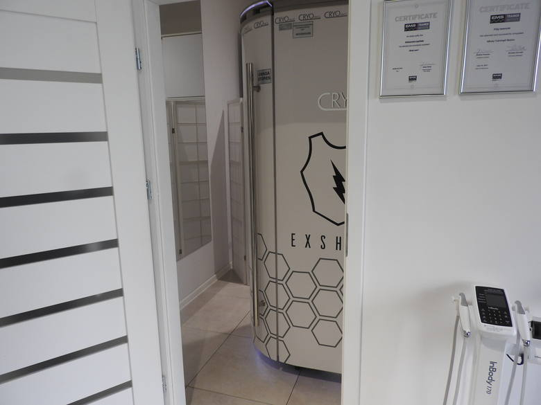 W Exshape proponują nowy sposób na poprawę kondycji, sylwetki i rehabilitację. W Białymstoku podobny sprzęt ma tylko... Jaga