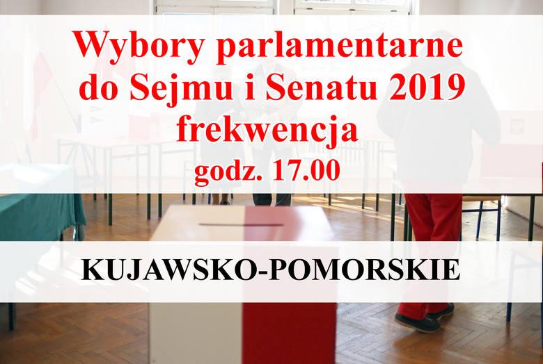 Frekwencja w gminach powiatu bydgoskiego na godz. 17.00 wyniosła 44,09 proc. (ogólnopolska wynosi 45,94 proc.). Ile wyniosła frekwencja w poszczególnych