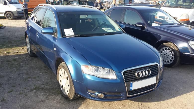 3. Audi A4. Silnik 2,0 diesel, rok produkcji 2006, cena 21000 zł.