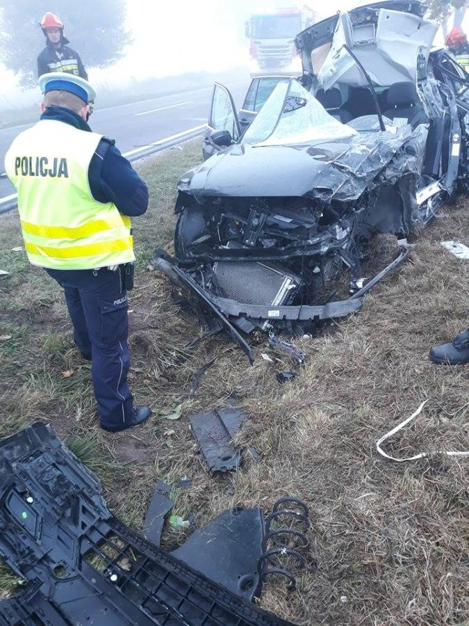 Do zdarzenia doszło w środę na trasie pomiędzy miejscowościami Dachnów i Cieszanów w powiecie lubaczowskim. Ze wstępnych ustaleń policji wynika, że 55-letni
