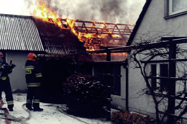 Pożar w Krośnie Odrzańskim