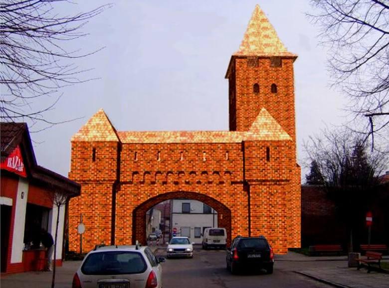 Średniowieczne mury obronne w Byczynie. Kilkanaście lat temu planowane było odtworzenie budynków bramnych, a także udostępnienie murów i wież dla tu