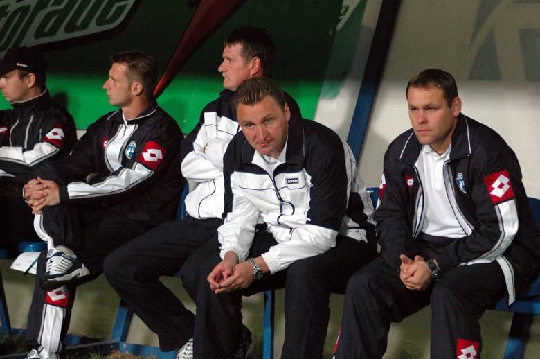 Czesław Michniewicz z Lechem Poznań zdobył Puchar i Superpuchar Polski w 2004 roku. Teraz jest selekcjonerem kadry narodowej u-21