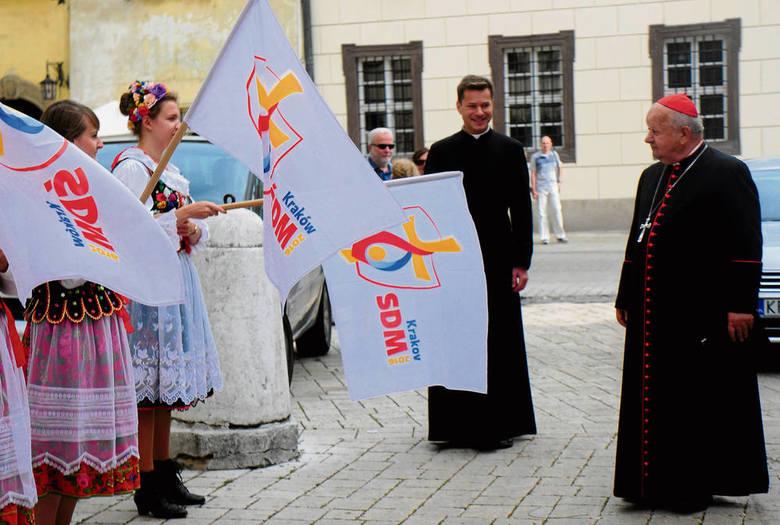 Pomysł kard. Dziwisza, zorganizowania spotkania młodych z papieżem w Krakowie, spodobał się wszystkim