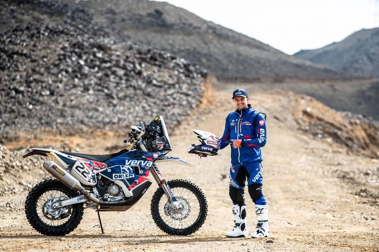 Maciej Giemza z ORLEN Team dobrze spisał się na pierwszym etapie Rajdu Dakar w Arabii Saudyjskiej [ZDJĘCIA]