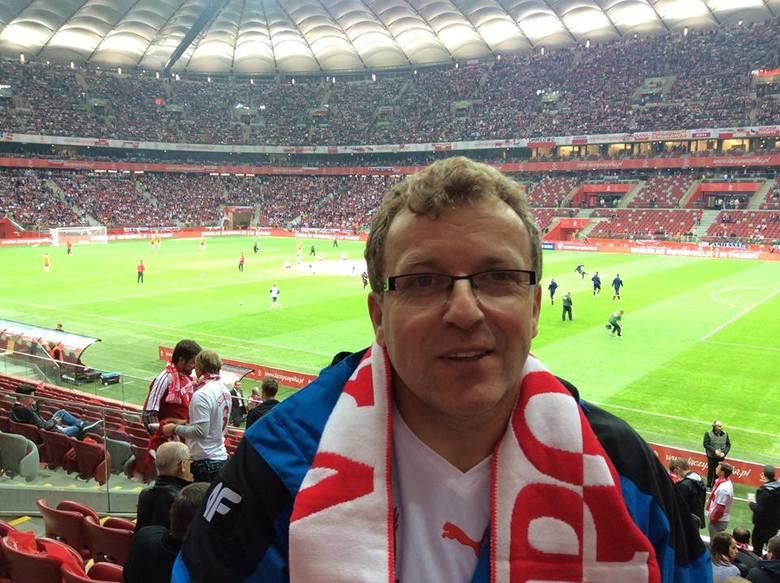 Tomasz Jasina zagrał w meczu z Realem. Były piłkarz Motoru obecnie jest komentatorem TVP Sport