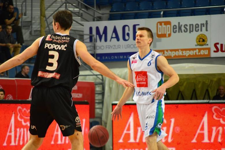 W 30. kolejce Tauron Basket Ligi Anwil Włocławek pokonał Start Lublin 93:67.