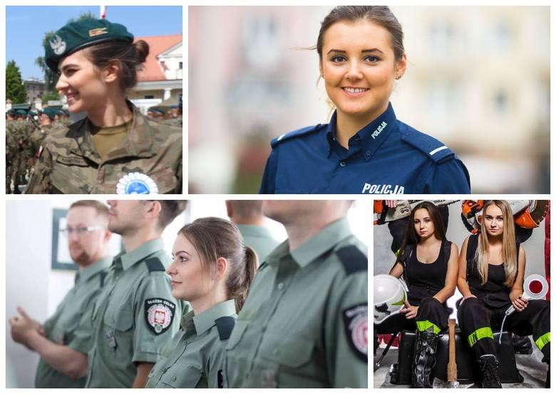 W podlaskich służbach pracuje z roku na rok coraz więcej kobiet. Są to nie tylko piękne, ale również wykwalifikowane Panie, które na co dzień pokazują