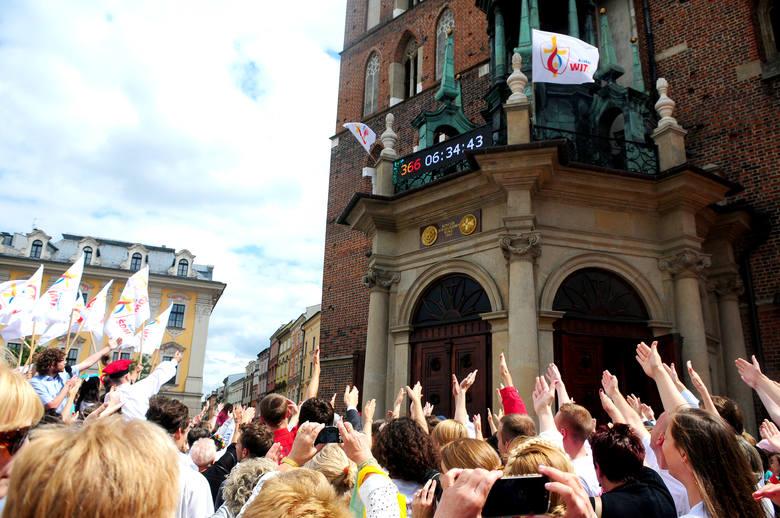 Papież zaprasza do Krakowa, a zegar już odmierza czas do Światowych Dni Młodzieży [WIDEO]
