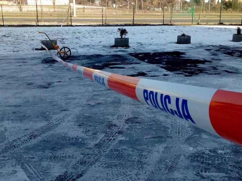 Morderstwo przy ul. Gęsiej w Lublinie. Zwłoki kobiety znaleziono koło bloku (ZDJĘCIA)