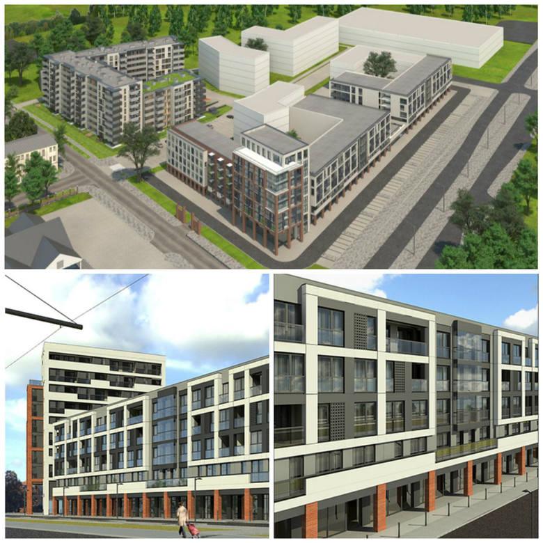 """W 2020 roku teren po dawnym Tormięsie będzie wyglądał zupełnie inaczej. Powstanie osiedle """"Lubicka Apartamenty"""". Osiedle z infrastrukturą"""