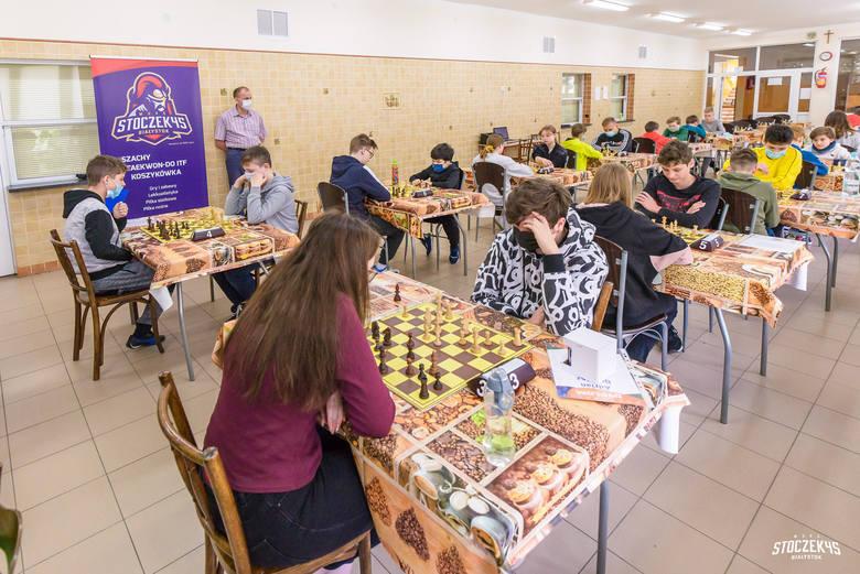 Białostocka Liga Szkolna w Szachach rozegrała VII rundę