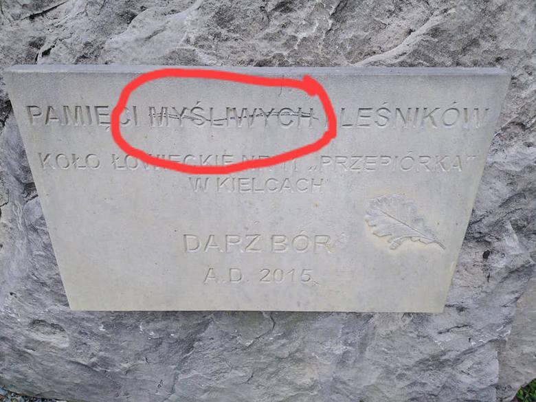 """Skandal! """"Ekolog"""" zdewastował leśną kapliczkę na terenie Nadleśnictwa Suchedniów"""