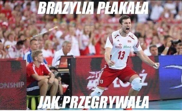 MŚ w Siatkówce. POLSKA ZNAKOMIKA I BRAZYLIA ZNIKA! Najlepsze memy po zwycięstwie Polaków