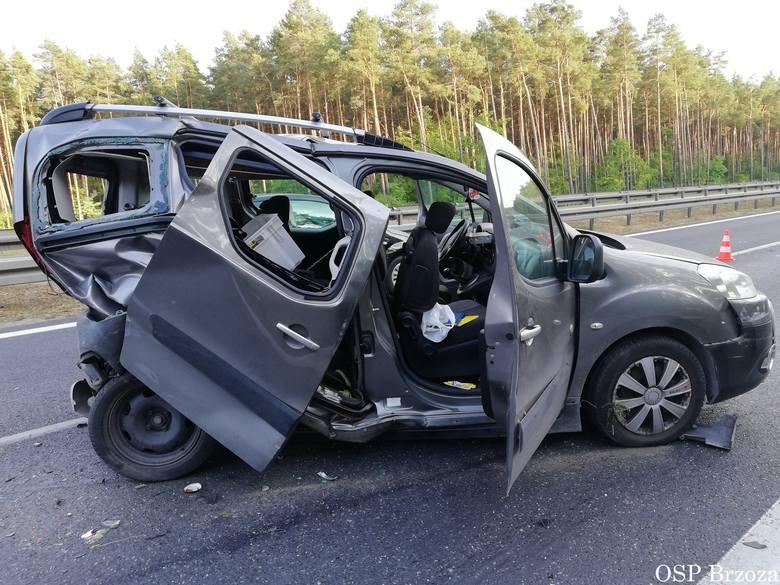 We wtorek o godz. 16.49 na drodze krajowej nr 5 w Stryszku, przed węzłem Bydgoszcz-Południe doszło do wypadku dwóch samochodów osobowych. Jedna osoba