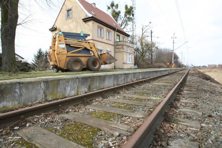 Stacja na Wojnowie, marzec 2017