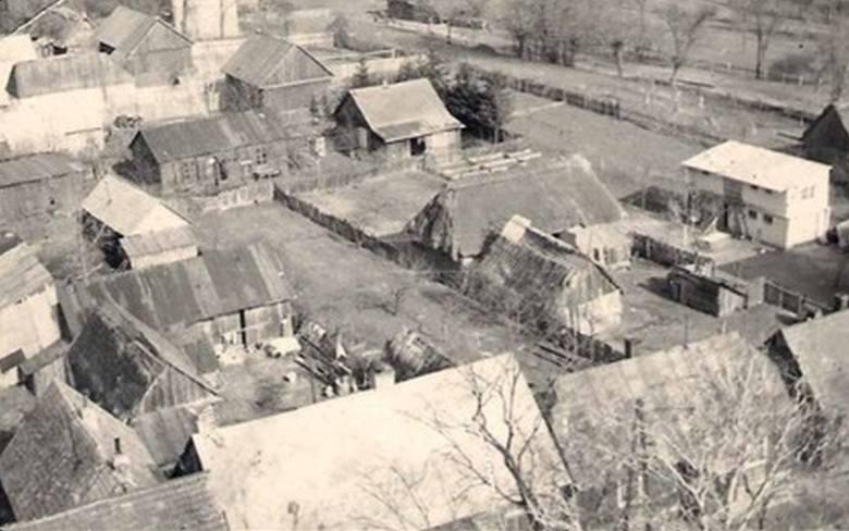 Budynki przy ulicy Kościuszki i Soleckiej w Lipsku - 1965 rok>